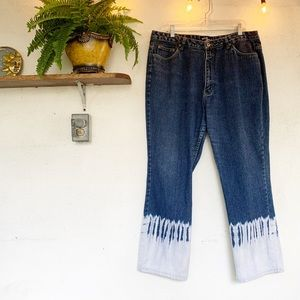 Vintage Early 2000s 2 Toned High Rise Jeans